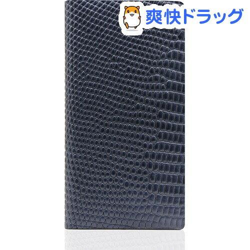 SLGデザイン iPhone7 リザードケース ブルー SD8110i7(1コ入)【SLG Design(エスエルジーデザイン)】【送料無料】