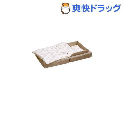 ファルスカ コンパクトベッドフィットL ベージュ(1セット)【送料無料】