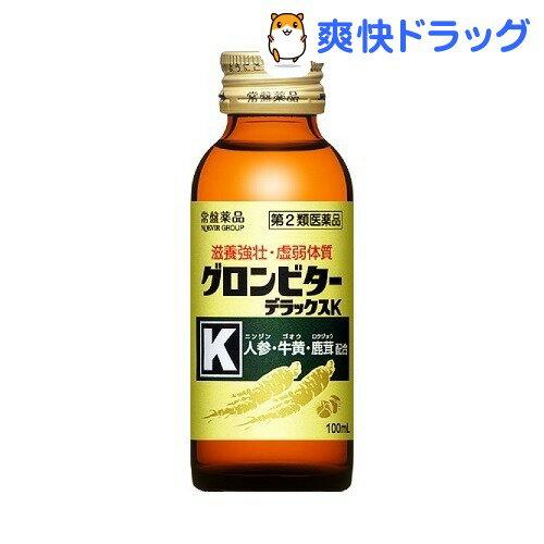 【第2類医薬品】グロンビター デラックスK(100mL*3本*10パック)【グロンビター】【送料無料】