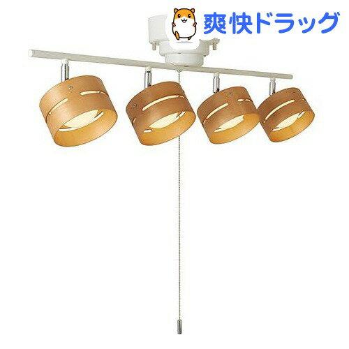 LEDひも式 4灯スポットシーリングライト ホワイト Y07CEL40L01WH(1コ入)【送料無料】