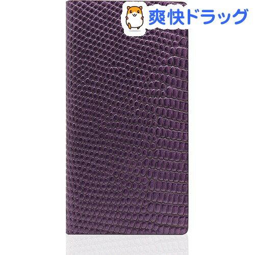 SLGデザイン iPhone7 リザードケース パープル SD8109i7(1コ入)【SLG Design(エスエルジーデザイン)】【送料無料】
