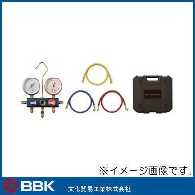 R22・R12・R502用マニホールドキット(150cmホース) 114-MHK-60 BBK 文化貿易