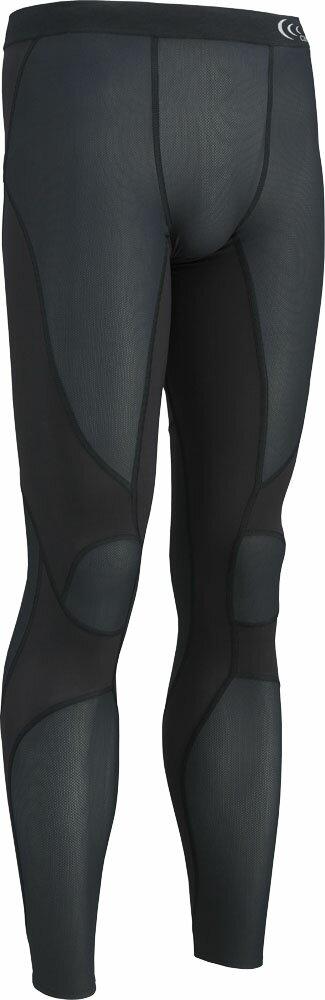 C3fit(シースリーフィット)ボディケアゲームシャツ・パンツインパクトエアータイツ(メンズ)3F14127ブラック