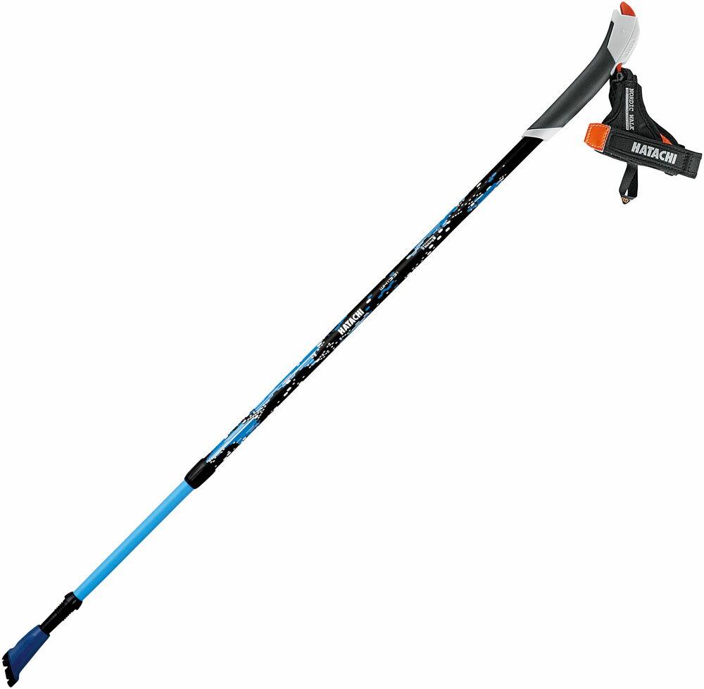 HATACHI(ハタチ)ウエルネススキーポールAGP アドバンスズーム2(2本組)WH1331ブルー