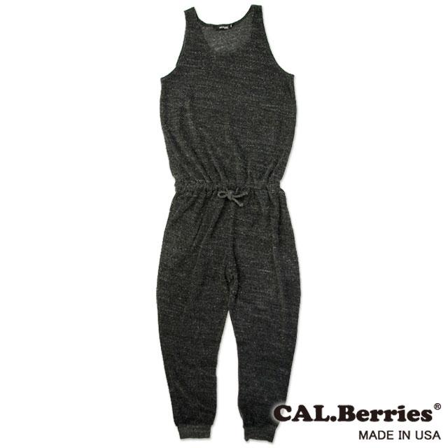 【カルベリーズ レディース】CAL.Berries カルベリーズ BLUE SUNNY SKY ROMPERS WOMEN`S (35tft008) レディース ALL Made in USA