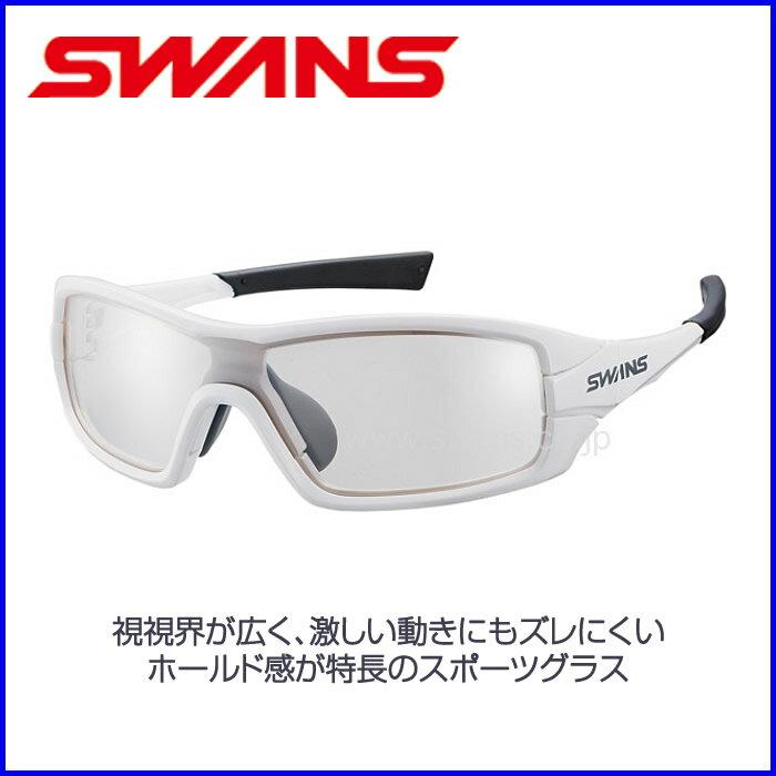SWANS 高性能スポーツサングラスSTRIX・I-M【ミラーレンズ】ホワイト×ホワイト×グレー 山本光学 球技 自転車 スキー スノーボード 【お取寄せ品】STRIX I-0712 W スワンズ ●15