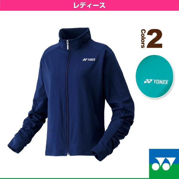 新作入荷 【テニス・バドミントン ウェア(レディース) ヨネックス】ニットウォームアップシャツ/レディース(57025)