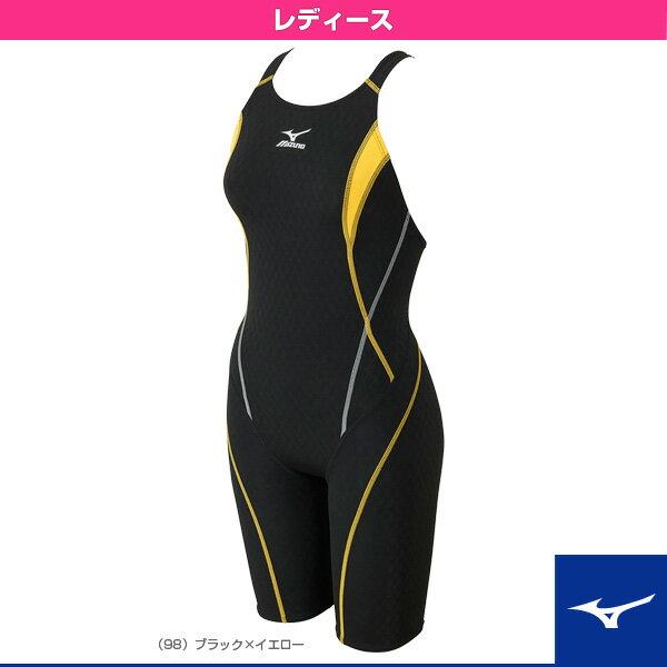【水泳 ウェア(レディース) ミズノ】ストリームアクティバ/ハーフスーツ(オープン)/レディース(N2MG6240)