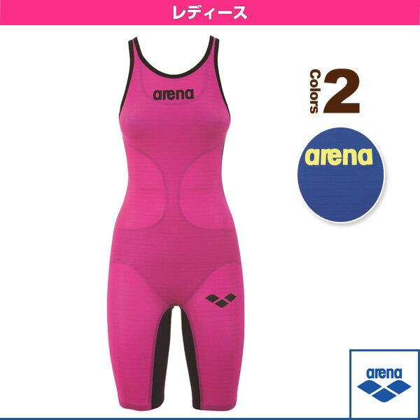【水泳 ウェア(レディース) アリーナ】POWERSKN carbon air/ハーフスパッツオープンバック/レーシング水着/レディース(FAR-6504W)