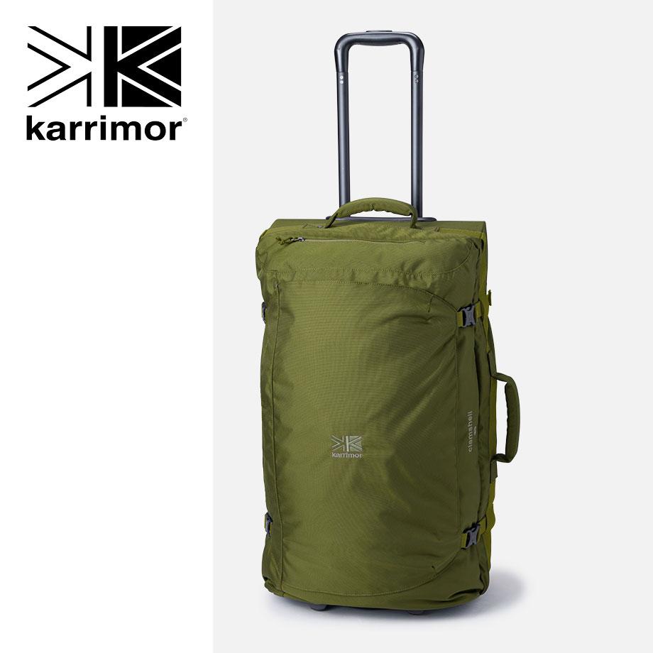 karrimor/clamshell80(クラムシェル80)【オリーブ】カリマー/キャリーバッグ・キャリーケース 【RCP】☆