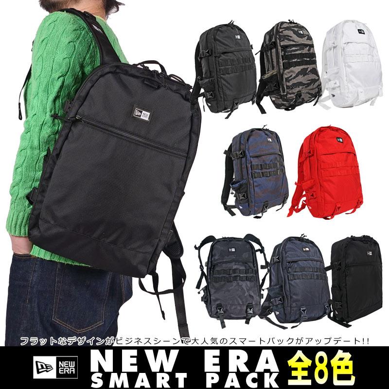 NEW ERA デイパック [ニューエラ] スマートパック リュックサック バックパック 鞄 通学 通勤 メンズ小物 レディース兼用 スマートパック 小物入れ SMART PACK 1680D 22L 114041