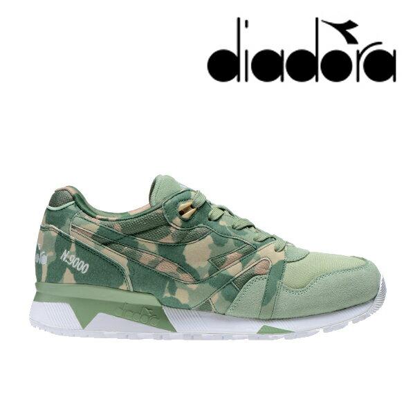 【送料無料・送料込(一部地域を除く)】 diadora ディアドラ N9000 CAMO 171821 Gグリーン(0201) メンズ