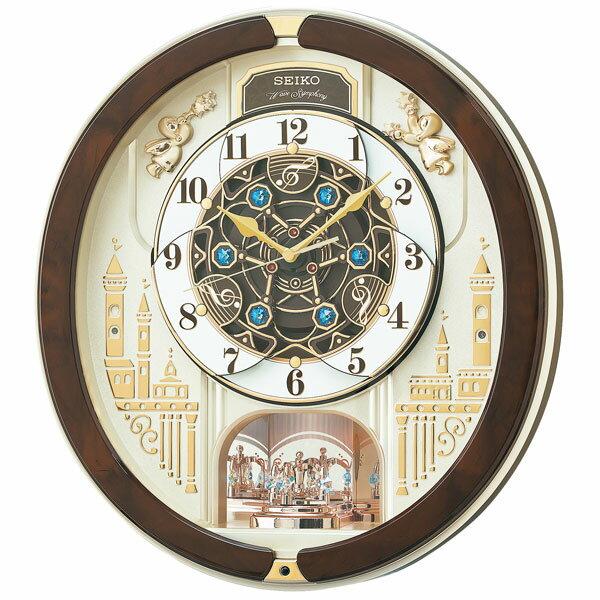 ユニセックス セイコー SEIKO ユニセックス 掛け時計 RE579B ゴールドパール