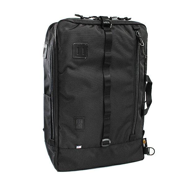 ユニセックス トポデザイン TOPO DESIGNS リュックサック TRAVEL BAG TDTB014-BALLBK ブラック 819656015968