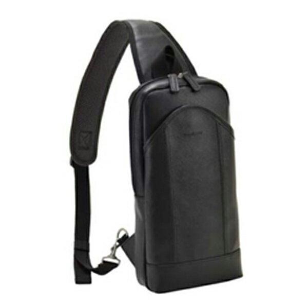 生活用品 メンズ ハミルトン HAMILTON 角シボシリーズ メンズ ボディバッグ ショルダーバッグ 33696 ブラック