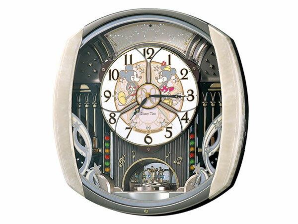 日用品雑貨 セイコー SEIKO キャラクタークロック からくり時計 電波時計 掛け時計 FW563A