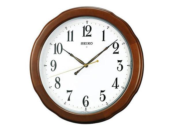 生活用品 セイコー SEIKO 電波時計 掛け時計 KX326B