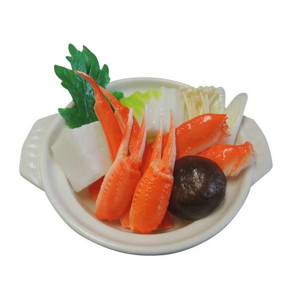 玩具 日本職人が作る 食品サンプル 鍋 かにすき IP-512