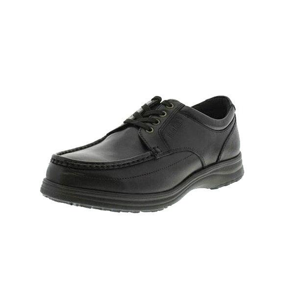 靴 紳士メンズ コンフォートデイリーウォーキングシューズ Hite Luck(ハイテラック) IL-130 ブラック 25.5cm