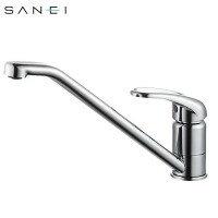 三栄水栓 SANEI シングルワンホール混合栓 K87110JV-13