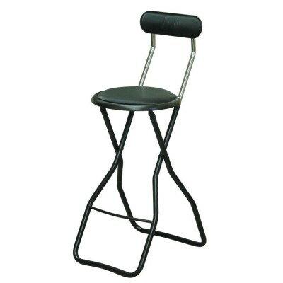 いす 使用時には座面の跳ね上がりを押さえる働きをします。 インテリア オススメ 折りたたみ椅子 4脚セット ラインブラック