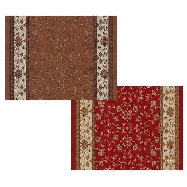 敷物・カーテン すべりにくい つまづきにくい 超薄型吸着廊下敷 BFS-7800 78cm×440cm レッド