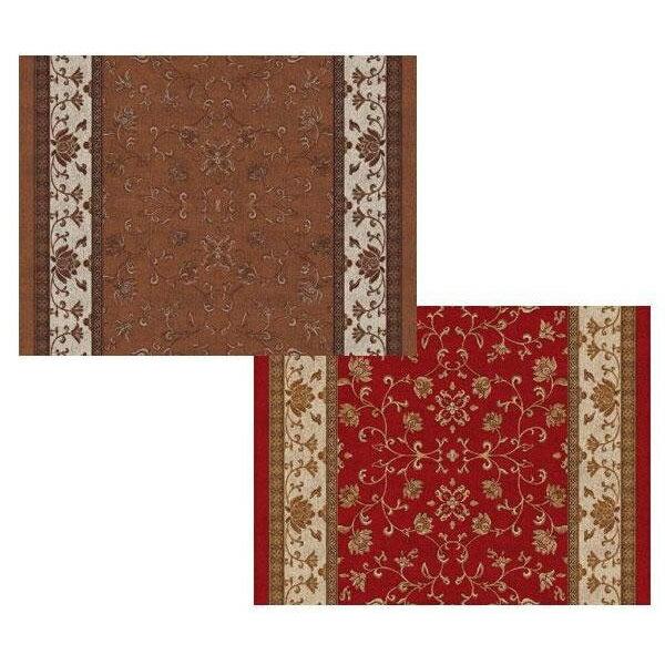 敷物・カーテン すべりにくい つまづきにくい 超薄型吸着廊下敷 BFS-7800 78cm×540cm ブラウン