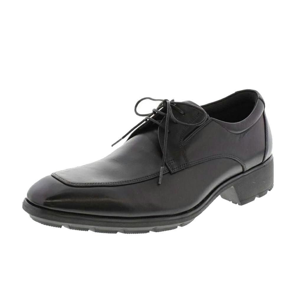 靴 アシックス商事 ビジネスシューズ texcy luxe テクシーリュクス TU-7756 ブラック 26.0cm