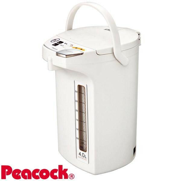 Peacock ピーコック魔法瓶 電動給湯ポット(4.0L) WMJ-40 ホワイト(W)