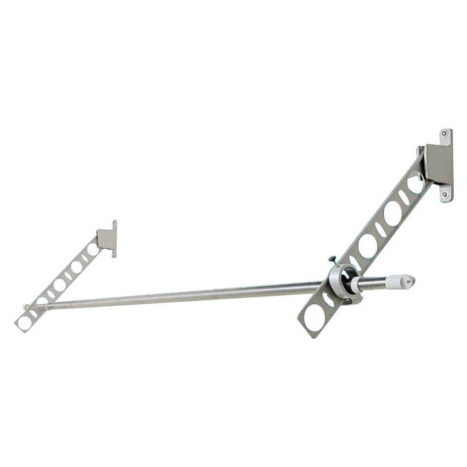 ハンガー・物干し関連商品 DRY・WAVE 窓壁用物干金物 KAN55 ステンカラー