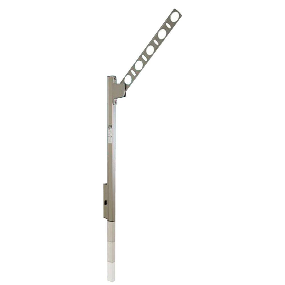 家事用品関連商品 DRY・WAVE 腰壁用可動式物干金物 SFK-P ブラック