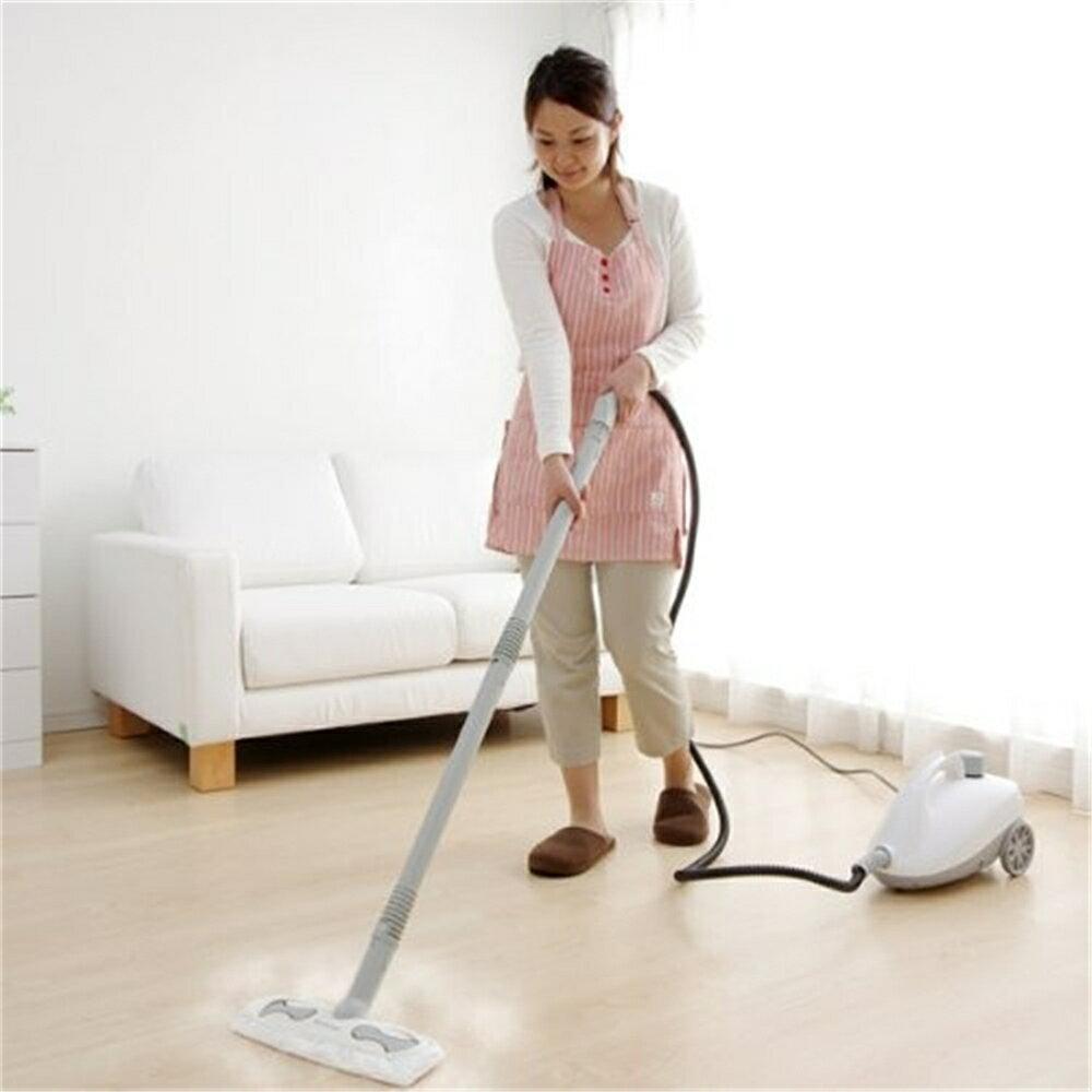 スチーム クリーナー 清掃 掃除 床、フローリング スチームクリーナーキャニスタータイプ ホワイト