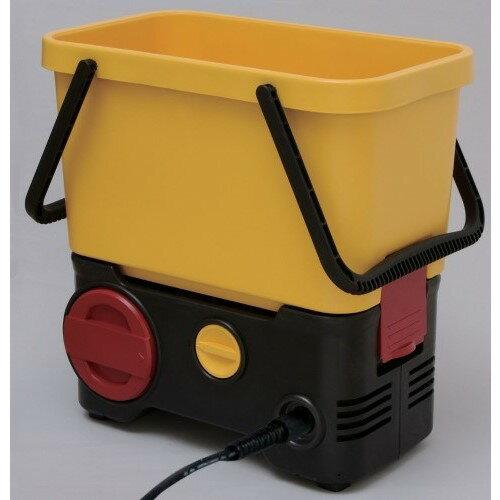 高圧 洗浄機 充電 タイプなので電源不要 人気 家電製品 タンク式高圧洗浄機充電タイプ イエロー/ブラック