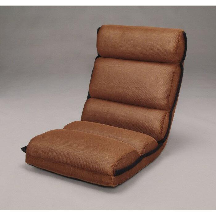 椅子 厚みがあり座り心地の良いもこもこタイプのフロアチェア!! 座椅子 チェア インテリア 家具 おしゃれ 一人暮らし ブラウン ZCM-2