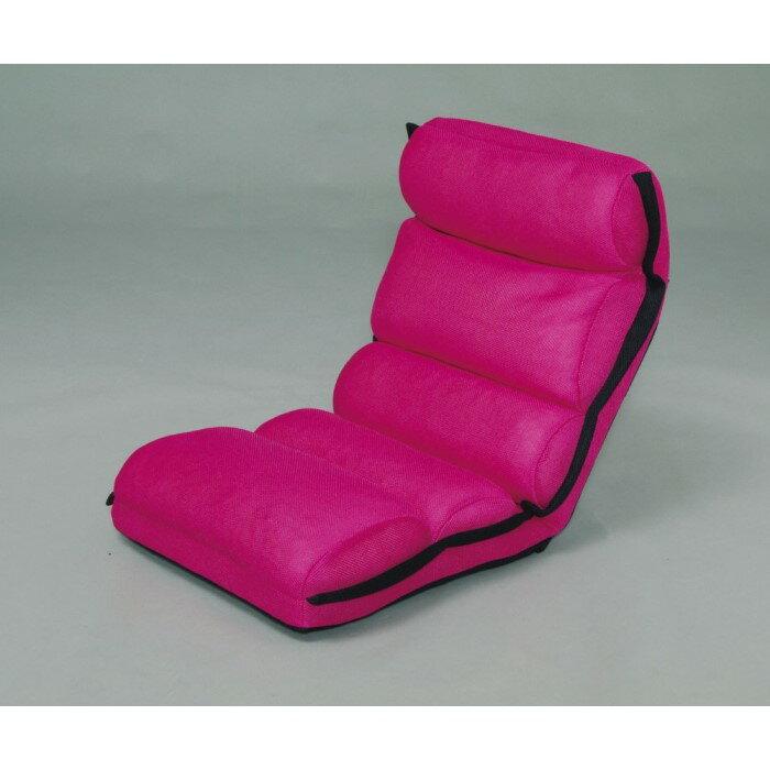 椅子 厚みがあり座り心地の良いもこもこタイプのフロアチェア!! 座椅子 チェア インテリア 家具 おしゃれ 一人暮らし ピンク ZCM-2
