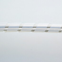 日用品 サンワサプライ ケーブルタイ(スパイラル)30m巻き・内寸直径15mm CA-SP15W-30N