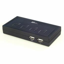 生活雑貨 ラトックシステム USB接続 (4台用) ミニBOXタイプ REX-430U