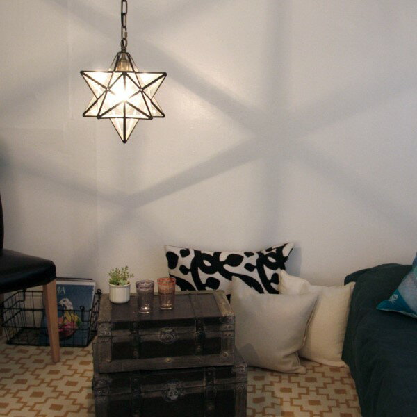 天井照明 吊り照明 インテリアライト 空間 を 神秘的 に照らしてくれます ユニーク で お洒落 な 照明 エトワール ペンダントランプ Etoile フロスト