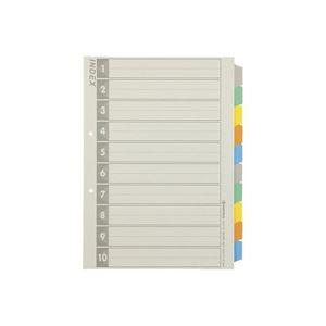 生活日用品 雑貨 (まとめ買い)再生インデックスA4S 5色10山5組 D137J-10Y 【×10セット】