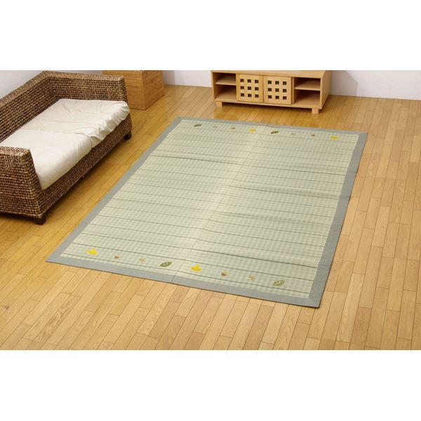 インテリア・家具 い草ラグカーペット 『D×カノンNF』 約180×240cm(裏:不織布)