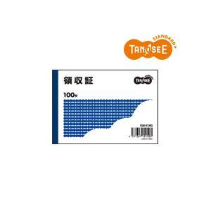 文具・オフィス用品 (まとめ)TANOSEE 領収証 B7・ヨコ型 100冊