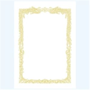 文具・オフィス用品 (まとめ買い)タカ印 賞状用紙 10-1061 A4 横書 10枚 【×10セット】