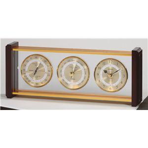 健康器具 スーパーEX気象計・時計 EX-743