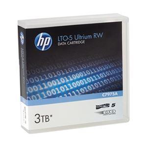 パソコン・周辺機器 HP LTO5 Ultrium 3TB RW データカートリッジ