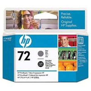 パソコン・周辺機器 HP プリントヘッドHP72グレー/F黒