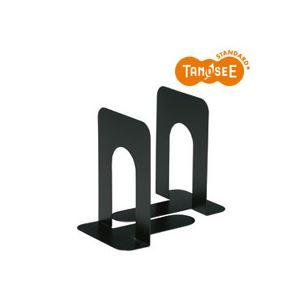 生活用品・インテリア・雑貨 (まとめ)TANOSEE ブックエンド T型 大 ブラック 20組
