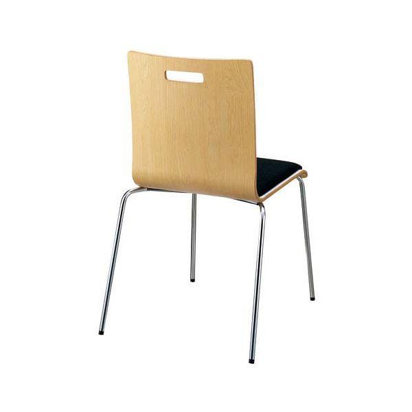 インテリア・家具 FRENZ 会議イス PM-50MP NA 4本脚パッド付 木製
