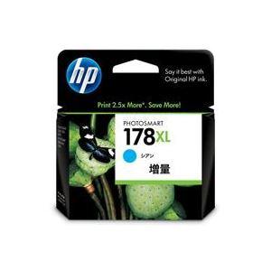 パソコン・周辺機器 (まとめ買い)HP インクカートリッジ HP178XL シアン 【×6セット】