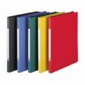 クリアケース・クリアファイル 関連商品 (業務用20セット) ビュートン Zファイル SCL-A4-DG A4S 濃灰 10冊