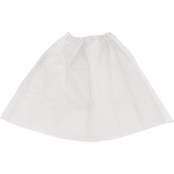 生活日用品 雑貨  (まとめ買い)衣装ベース マント・スカート 白 【×15セット】